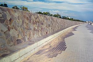 乱形に使われる鉄平石