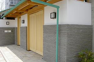 小端積、方形に使われる鉄平石